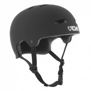 TSG Helm Evolution-Pro-solid S/M flat-black
