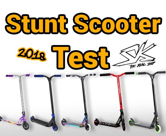 Stunt Scooter Test