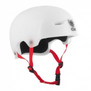 TSG Helm Evolution-Graphic Special clear-white L/XL
