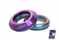 Blunt integrated headset purple