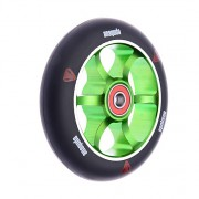 Anaquda spoked wheel inkl. ABEC 9 Lager 110 mm black/green