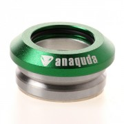 Anaquda integrated Headset green V2