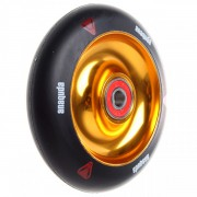 Anaquda fullcore wheel inkl. ABEC 9 Lager 100 mm black/gold