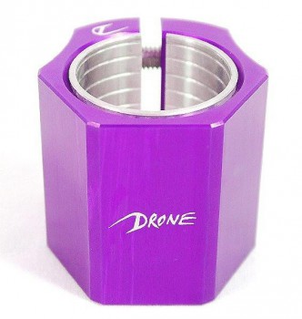 Drone Clamp Didi Hive double OS+Shim purple