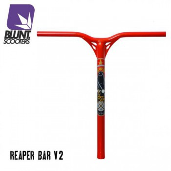 Blunt Reaper V2 ALU Bar 60 cm blood red